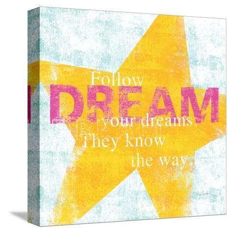 Letterpress Dream-Sue Schlabach-Stretched Canvas Print