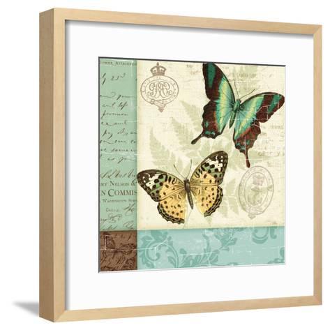 Butterfly Patchwork I-Pela Design-Framed Art Print