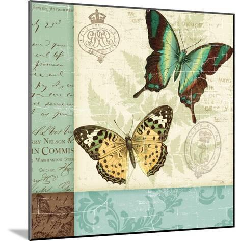 Butterfly Patchwork I-Pela Design-Mounted Premium Giclee Print