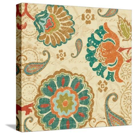 Fall Paisley II--Stretched Canvas Print