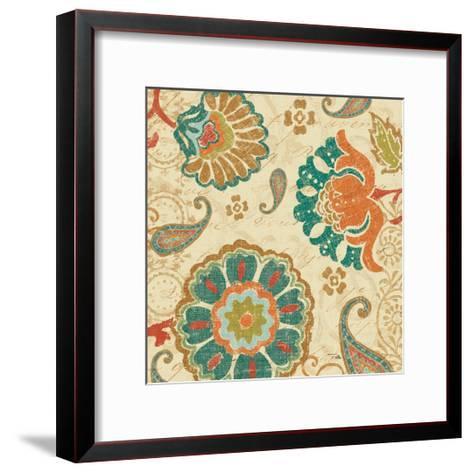 Fall Paisley II--Framed Art Print
