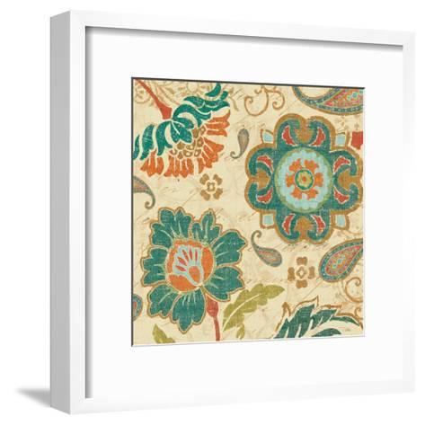 Fall Paisley III--Framed Art Print