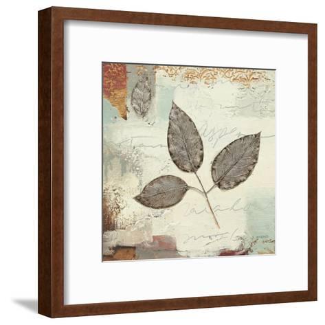 Silver Leaves II-James Wiens-Framed Art Print