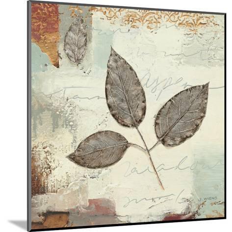 Silver Leaves II-James Wiens-Mounted Art Print