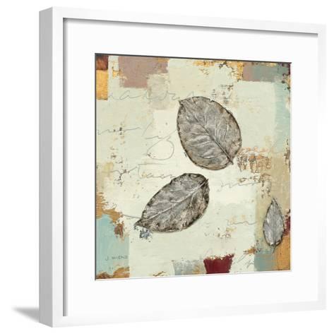 Silver Leaves IV-James Wiens-Framed Art Print