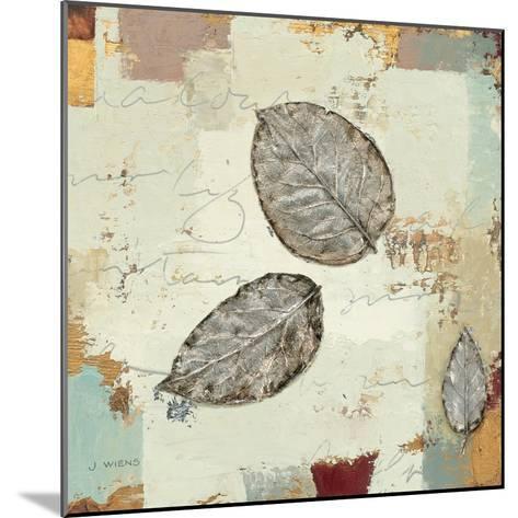 Silver Leaves IV-James Wiens-Mounted Art Print