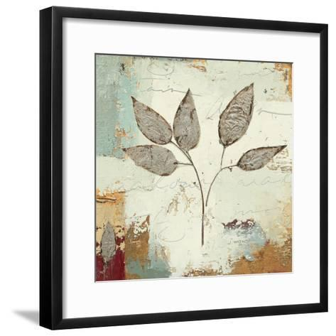 Silver Leaves III-James Wiens-Framed Art Print