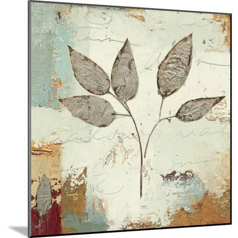 Silver Leaves III-James Wiens-Mounted Art Print