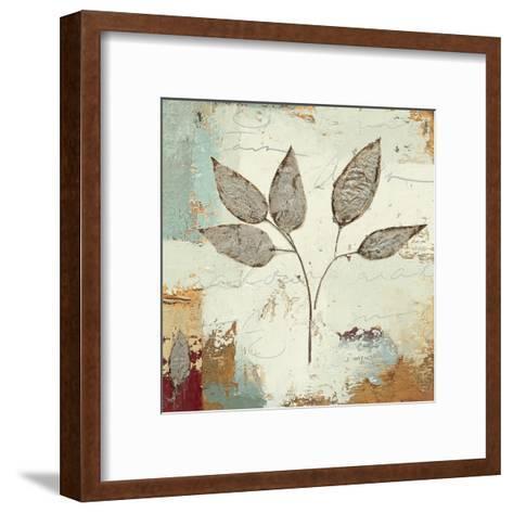 Silver Leaves III-James Wiens-Framed Art Print