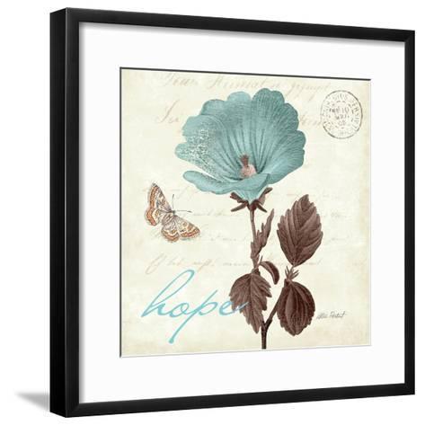 Touch of Blue III-Katie Pertiet-Framed Art Print