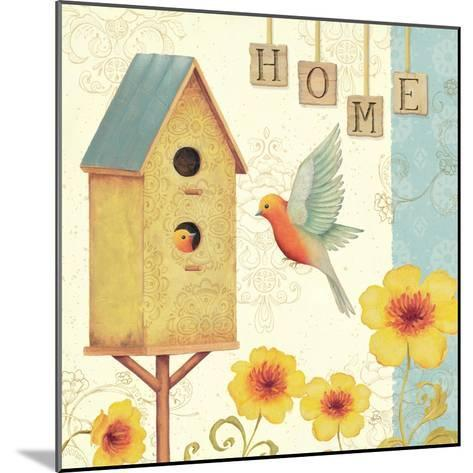 Welcome Home I-Daphne Brissonnet-Mounted Art Print