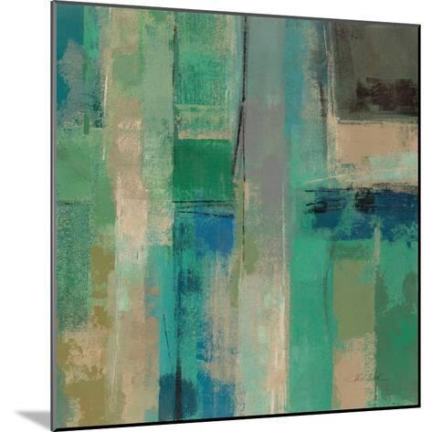 Emerald Fields Square II-Silvia Vassileva-Mounted Art Print