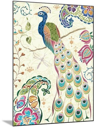 Peacock Fantasy III-Daphne Brissonnet-Mounted Premium Giclee Print