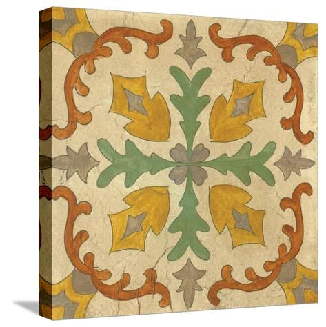 Andalucia Tiles I Color-Silvia Vassileva-Stretched Canvas Print