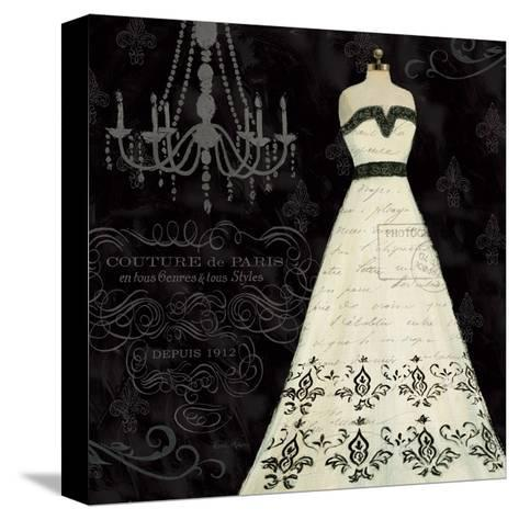 French Couture II-Emily Adams-Stretched Canvas Print