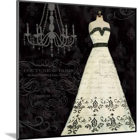 French Couture II-Emily Adams-Mounted Art Print