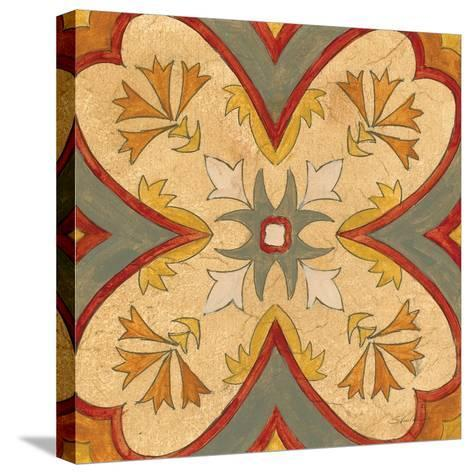 Andalucia Tiles H Color-Silvia Vassileva-Stretched Canvas Print
