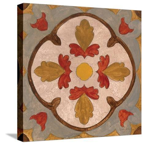 Andalucia Tiles F Color-Silvia Vassileva-Stretched Canvas Print