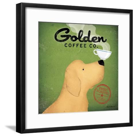 Golden Coffee Co.-Ryan Fowler-Framed Art Print