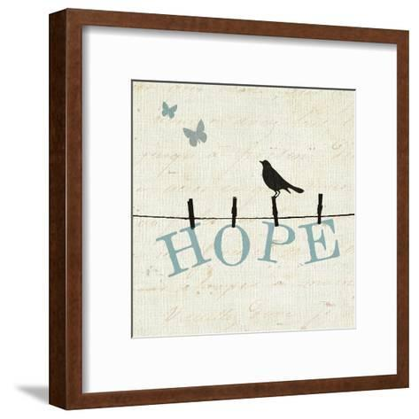 Bird Talk I-Pela Design-Framed Art Print