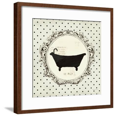 Cartouche Bath-Emily Adams-Framed Art Print