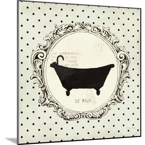 Cartouche Bath-Emily Adams-Mounted Art Print