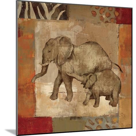 Animals on Safari III-Silvia Vassileva-Mounted Art Print