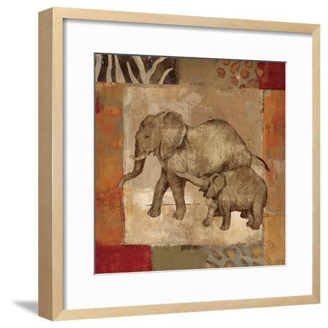 Animals on Safari III-Silvia Vassileva-Framed Art Print