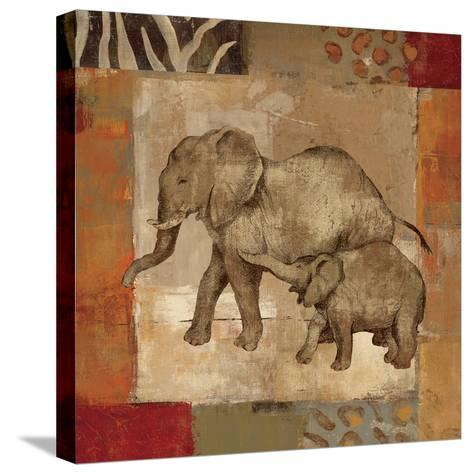 Animals on Safari III-Silvia Vassileva-Stretched Canvas Print
