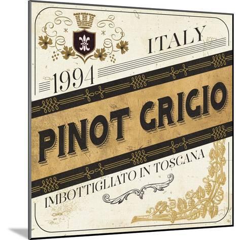 Wine Labels IV-Pela Design-Mounted Art Print