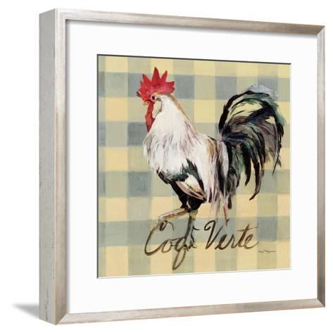 Coq Verte-Marilyn Hageman-Framed Art Print