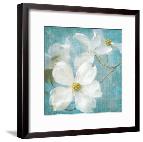Indiness Blossom Square Vintage I-Danhui Nai-Framed Art Print