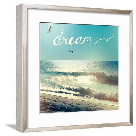 Coastline Waves-Sue Schlabach-Framed Art Print