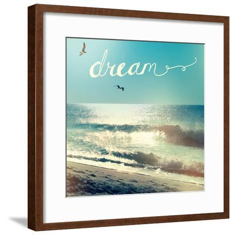 Coastline Waves-Sue Schlabach-Framed Art Print