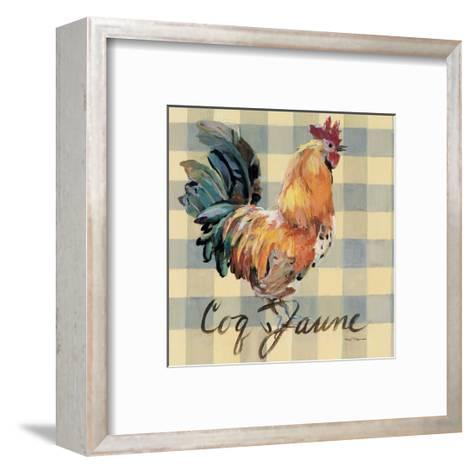 Coq Jaune-Marilyn Hageman-Framed Art Print