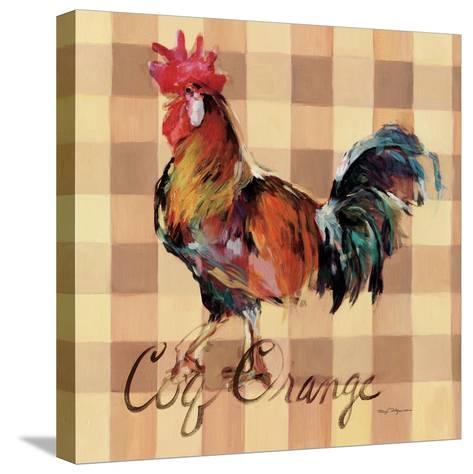 Coq Orange-Marilyn Hageman-Stretched Canvas Print