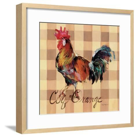 Coq Orange-Marilyn Hageman-Framed Art Print