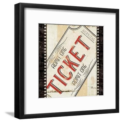 Admit One-Jess Aiken-Framed Art Print
