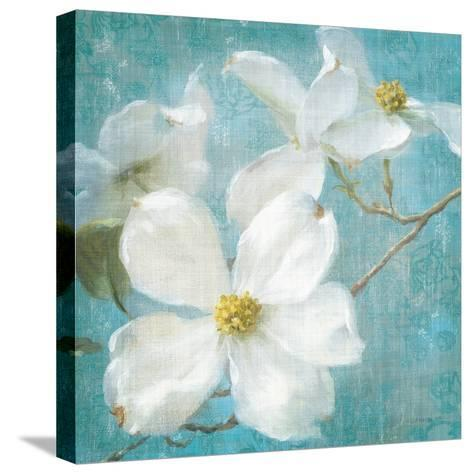 Indiness Blossom Square Vintage I-Danhui Nai-Stretched Canvas Print