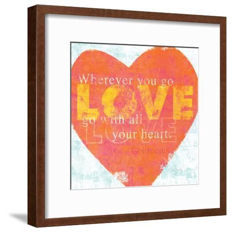 Letterpress Love-Sue Schlabach-Framed Art Print