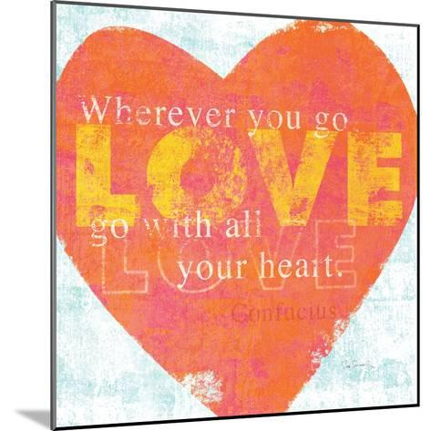 Letterpress Love-Sue Schlabach-Mounted Art Print