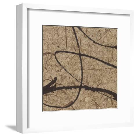 Contemporary Scroll Square III-Chris Paschke-Framed Art Print