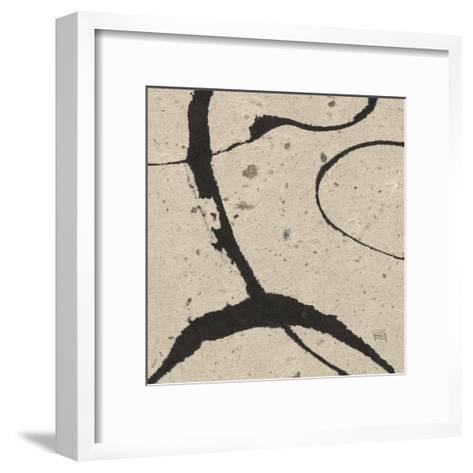 Contemporary Scroll Square IV-Chris Paschke-Framed Art Print
