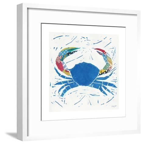 Sea Creature Crab Color-Courtney Prahl-Framed Art Print