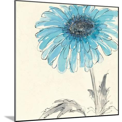 Gerbera Blue II-Chris Paschke-Mounted Art Print