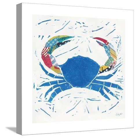 Sea Creature Crab Color-Courtney Prahl-Stretched Canvas Print