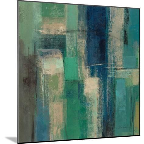 Emerald Fields Square I-Silvia Vassileva-Mounted Art Print