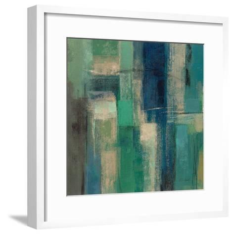 Emerald Fields Square I-Silvia Vassileva-Framed Art Print