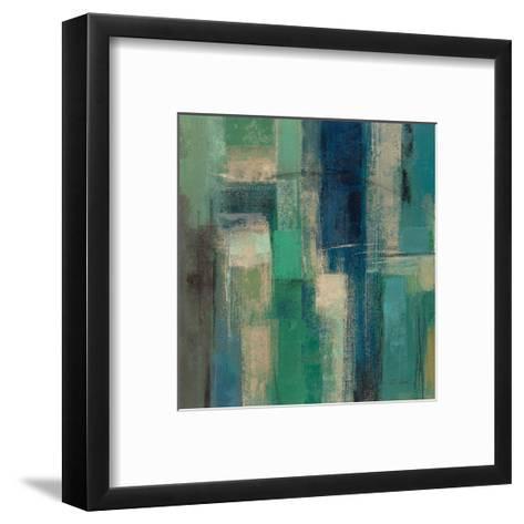 Emerald Fields Square I-Silvia Vassileva-Framed Art Print