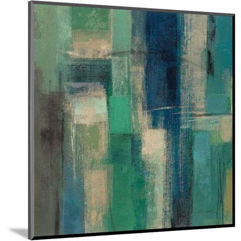 Emerald Fields Square I-Silvia Vassileva-Mounted Art Print